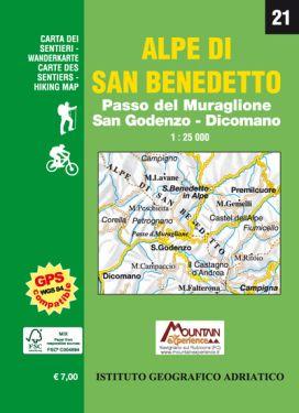 Alpe di San Benedetto 1:25.000 (21)