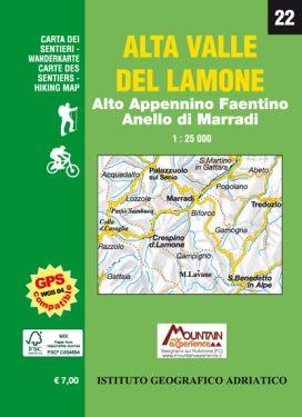 Alto Appennino Faentino - Alta Valle del Lamone 1:25.000 (22)