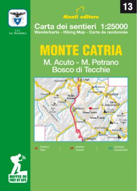 Monte Catria, Monte Acuto 1:25.000 (13)