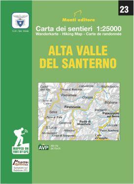 Alta Valle del Santerno, Alto Appennino Imolese 1:25.000 (23)