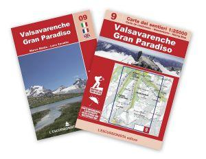 09 - Valsavarenche, Gran Paradiso carta dei sentieri 1:25.000 ANTISTRAPPO 2020