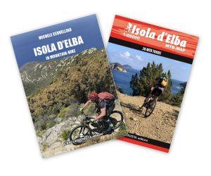 Isola d'Elba in mountain-bike - guida + carta 1:25.000