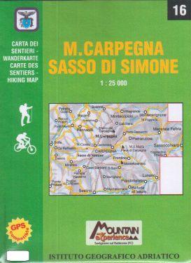 Monte Carpegna, Sasso di Simone 1:25.000 (16)