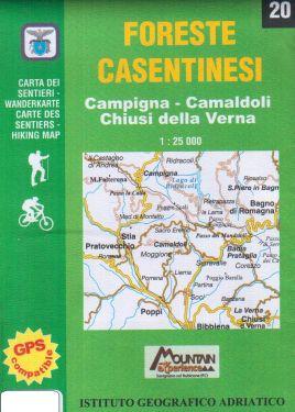 Foreste Casentinesi 1:25.000