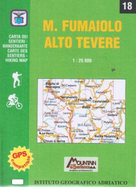 Monte Fumaiolo, Alto Tevere 1:25.000