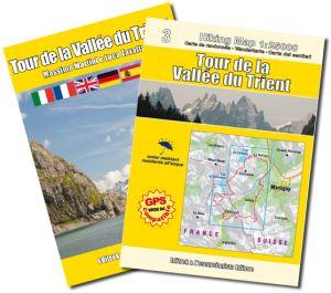 Tour de la Vallee du Trient guida + carta 1:25.000