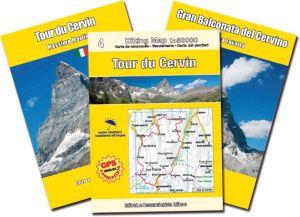 Tour du Cervin (Giro del Cervino) e Gran Balconata del Cervino, guida + carta 1:50.000 - 1:30.000